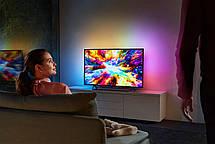 Телевизор Philips 43PUS7303/12 (PPI1600Гц, 4K Smart Android, Quad Core, P5 Perfect Picture, DVB-С/Т2/S2, 20Вт), фото 3