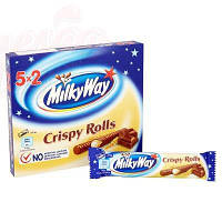 Шоколадный батончик Milky Way Crispy Rolls 1 Батончик