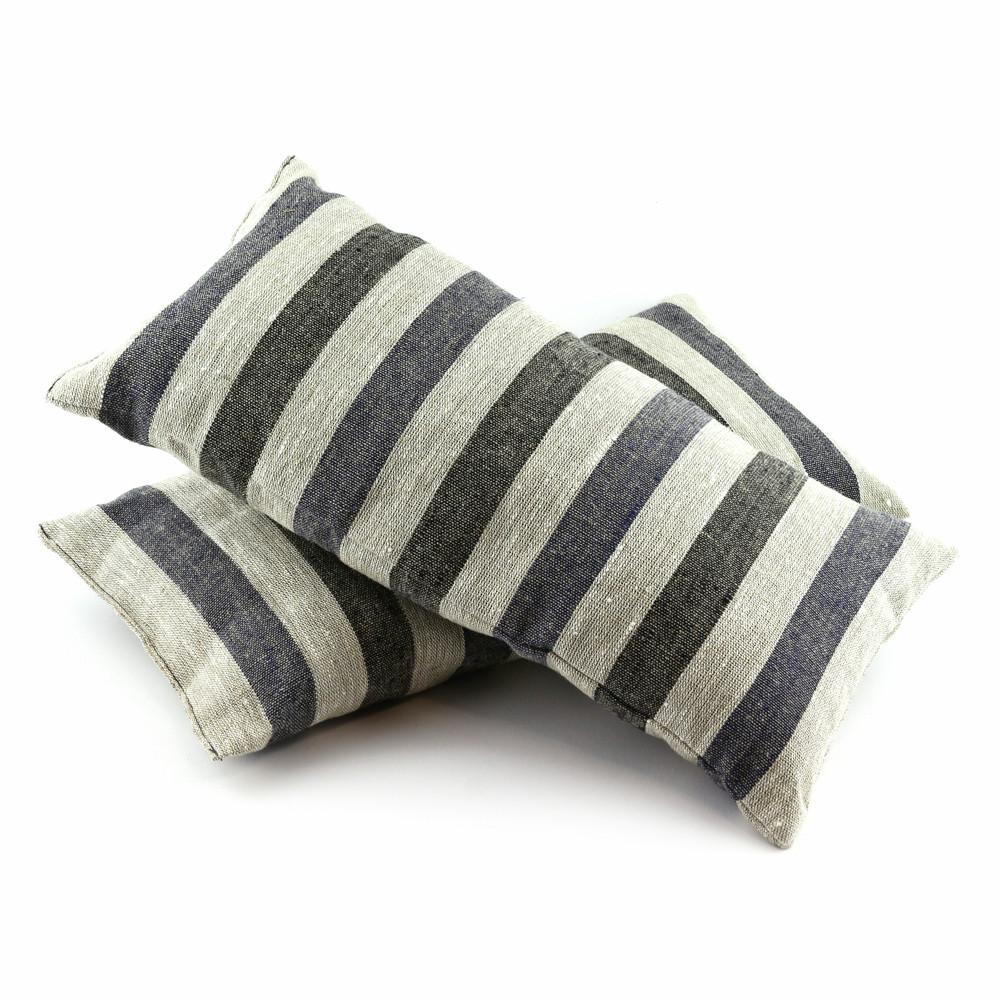 Подушка для бани натуральный лен, Saunapro