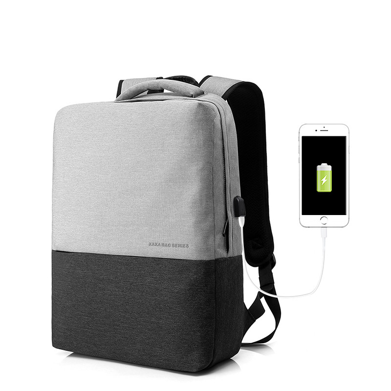 Мужской Рюкзак Городской для Ноутбука KAKA (2237) Серый