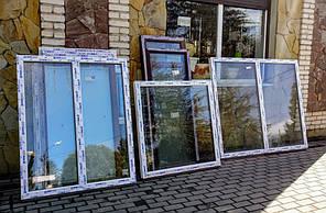 Вікно в.1,46 *ш.0,86 м металопластикове одностулкове біле відкривне , фото 3