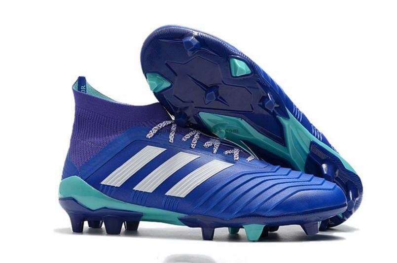 Бутсы adidas Predator 18.1 FG blue