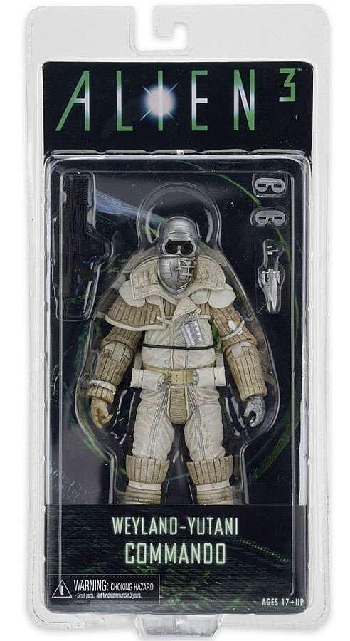 Фигурка солдата Вейланд-Ютани, 18СМ - Weyland Yutani Commando, Alien 3, Series 8, Neca