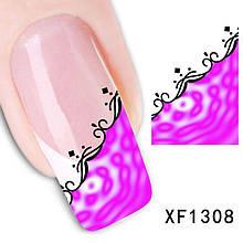 Наклейки для ногтей XF1308