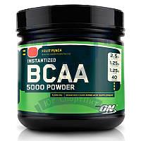 Optimum Nutrition BCAA 5000 powder БЦАА для восстановления мышц для тренировок спортивное питание