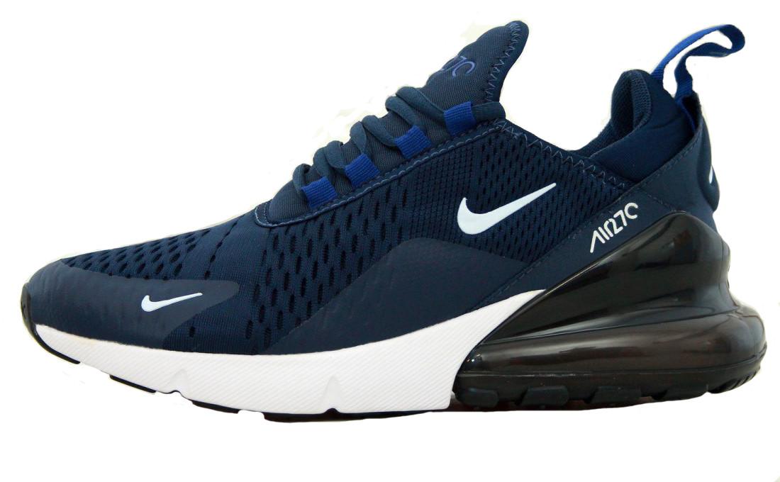 Мужские кроссовки Nike Air Max 270 Dark Blue - Интернет-магазин обуви Parus  Shop в 9564f8811b1