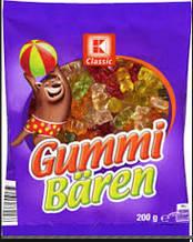 Жевательные конфеты K-Classic Gummi Bären 200 г