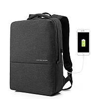 Рюкзак городской для ноутбука Kaka 15.6 с USB портом