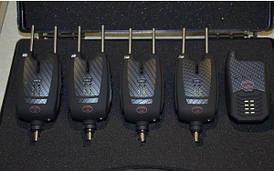 Набір електронних сигналізаторів Palladium Carp 4+1 (F-196) Snag Bars