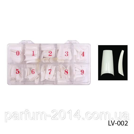 Белые универсальные эластичные классические типсы ногти с полной контактной зоной, 500 шт