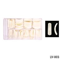 Ногти LV 003  (по 400 шт) матовые