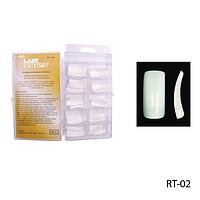 Ногти RT-02 (по 100 шт) белые, длинные - №6