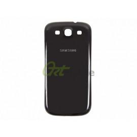 Задняя крышка Samsung i9300 Galaxy S3, черная, Onyx Black, оригинал (К