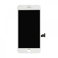 Дисплей (экран) для iPhone 8 Plus + тачскрин, цвет белый, копия высокого качества