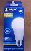 Лампа світлодіодна LED A60 E27 15W ECONOM 4000K