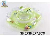 Круг для купания младенца, зеленый