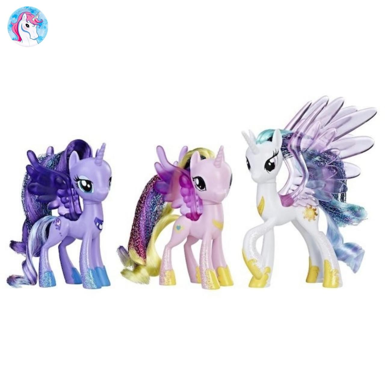 My Little Pony Эксклюзивный набор пони парад Принцесс Friendship Festival  Princess Parade - Детские игрушки интернет b8f0eb7e866