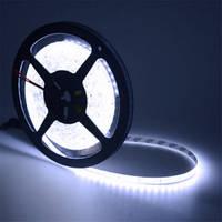Светодиодная лента SMD2835 14,4W 120 LED/m IP33 ультра  белый White 15000k