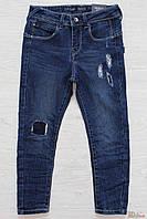 Джинсы синие зауженные к низу для мальчика (116 см.) Tiffosi 2125000535074
