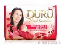 Мыло DURU Floral Sensations Роза с протеином 90 гр