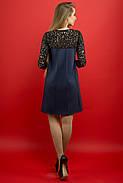 Женское молодежное платье Эмма / цвет синий / размер 44-52, фото 2