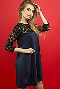 Женское молодежное платье Эмма / цвет синий / размер 44-52, фото 4