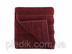 Махровое полотенце 50х90 Irya Frizz Bordo бордовое