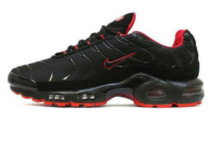 92b14435 Мужские кроссовки Nike Air Max Tn Plus Black/Red - Интернет-магазин обуви  Parus
