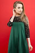 Женское молодежное платье Эмма / цвет зеленый / размер 44-52, фото 2
