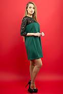 Женское молодежное платье Эмма / цвет зеленый / размер 44-52, фото 3