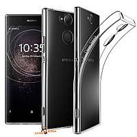 Силиконовый чехол 0,33 мм для Sony Xperia XA2 прозрачный