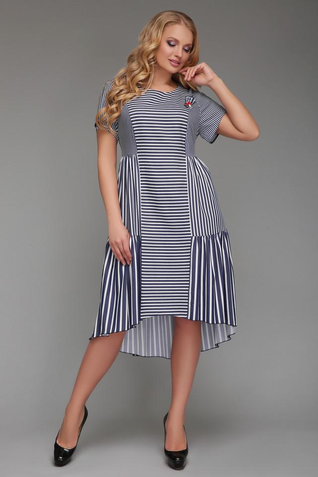 Платье большого размера Мариэтта 14e0088cb84da