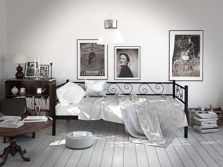 Металлическая кровать Амарант фабрика Tenero, фото 2