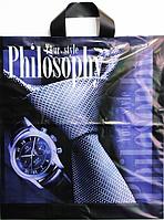 Пакет полиэтиленовый Петля Философия 37 х42 см / уп-25шт