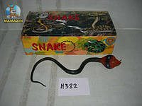 """Игрушка Змея кобра 23"""", резиновая"""