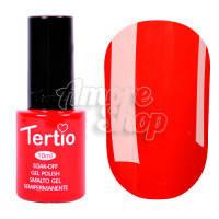 Гель-лак Tertio №010 (красный, эмаль), 10 мл