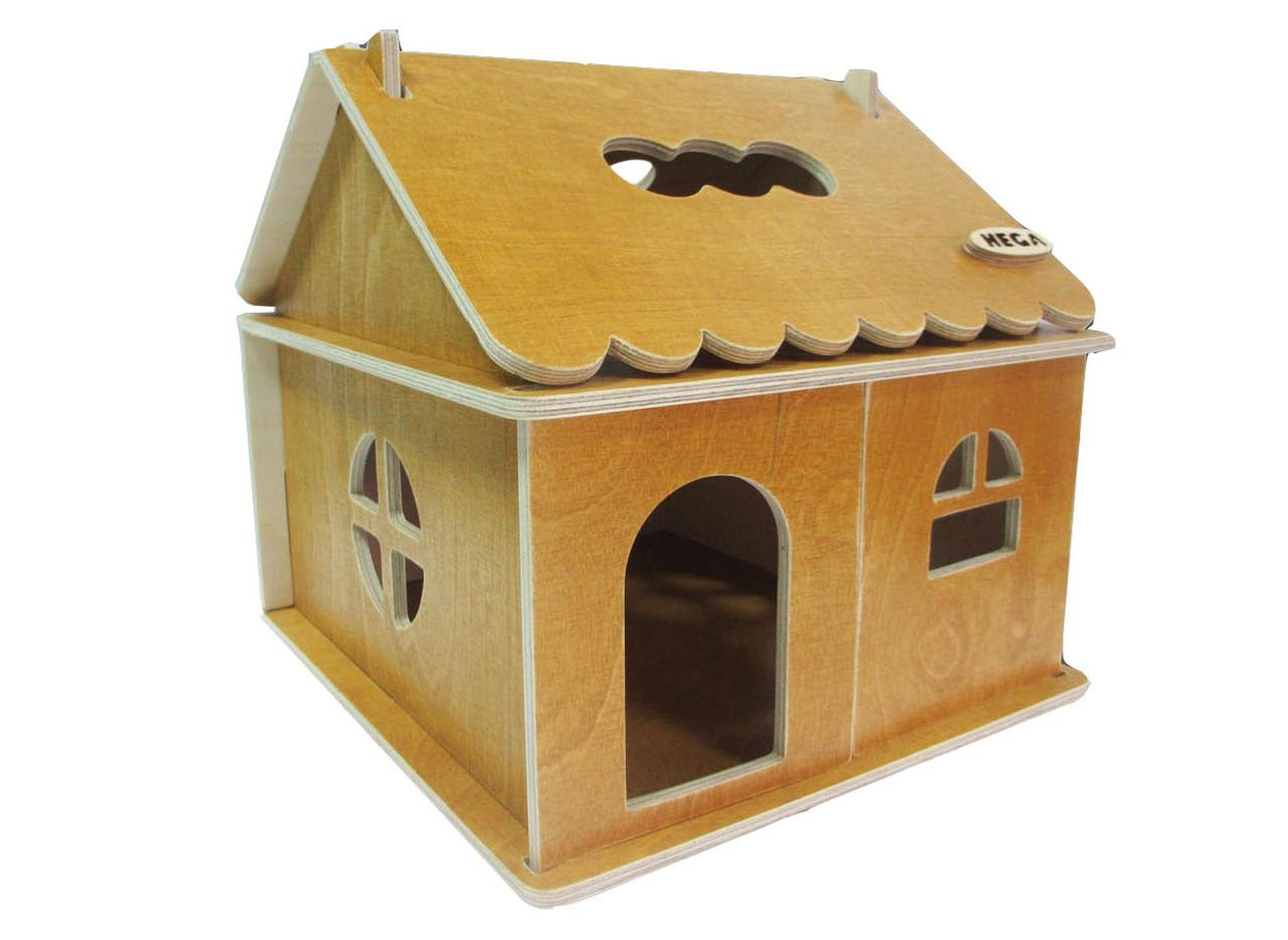 Кукольный домик Hega тонированный 1эт. (041)