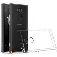 Силиконовый чехол 0,33 мм для Sony Xperia XA2 Ultra прозрачный