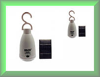 Лампа аккумуляторная GD-5007S с солнечной панелью