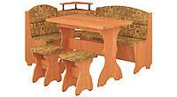 Кухонный уголок Сенатор с простым, раскладным столом, без стола и табуретов