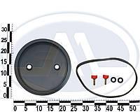 Крышка верхняя внутреннего тороидального баллона (крышка, болты 2 шт., резинки под болты 2 шт.)
