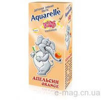Акварель зубная паста детская 50мл Апельсин