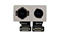 Камера для iPhone 8 Plus, 12MP + 12MP, основная (большая)