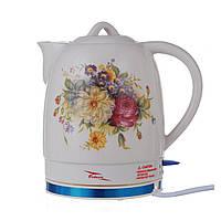 Чайник керамический Octavo 2л, електрочайник
