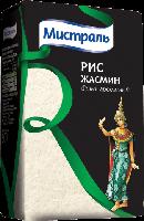 Рис жасмин белый ароматный  Мистраль 500 грамм