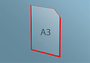 Карман А3 плоский, фото 4