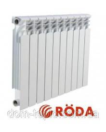 Биметаллический радиатор Roda RBM 96/500 секционный