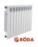 Биметаллический радиатор Roda RBM 96/500 секционный, фото 1