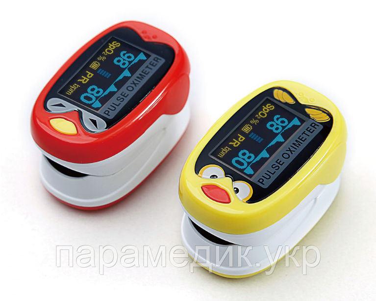 Пульсоксиметр педиатрический Yongrow  К1 для детей от 1 до 12 лет, цветной OLED дисплей