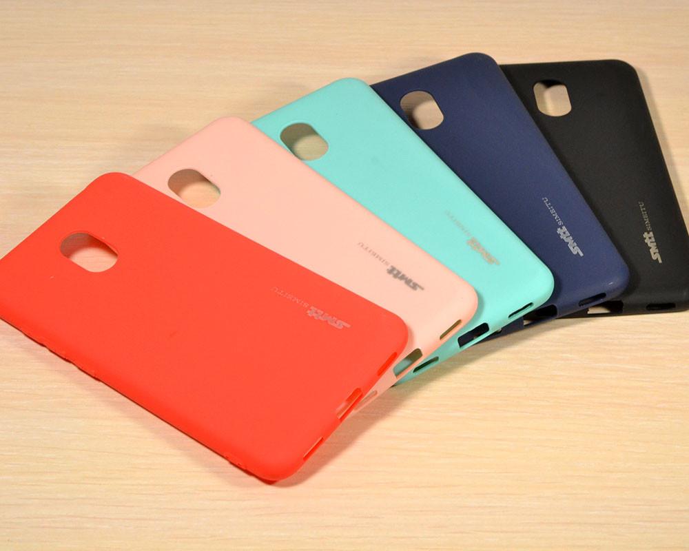 TPU чехол накладка Smitt для Meizu M6 (5 Цветов)